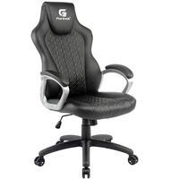 Cadeira Gamer Giratória Com Elevação A Gás Office Blackfire H01 Preto - Fortrek