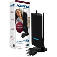 ANTENA INTERNA AMPLIFICADA AQUÁRIO DTV-4600 VHF, UHF & HDTV