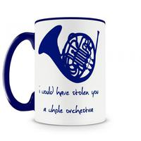 Caneca How I Met Your Mother Blue Horn Azul
