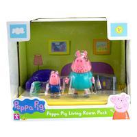 Cenario Da Peppa Sortidos - Papai Pig E Jorge - Sala - Sunny