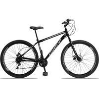 Bicicleta Aro 29 Dropp Sport 21v Garfo Rigido, Freio A Disco - Preto/cinza - 17'' - 17''