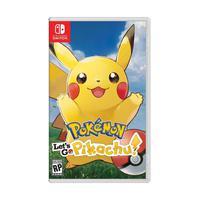 Jogo Pokemon Let's Go Pikachu - Switch
