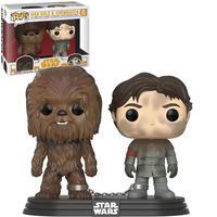 Boneco Funko Pop Star Wars Han Solo & Chewbacca 2 Pack