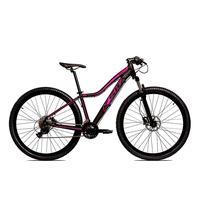 Bicicleta Alumínio Aro 29 Ksw 24 Velocidades Freio  Hidráulico Krw17 - 15.5´´ - Preto/rosa