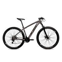 Bicicleta Alumínio Aro 29 Ksw Shimano Tz 24 Vel Ltx Krw20 - 19´´ - Grafite/preto Fosco