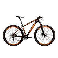 Bicicleta Alum 29 Ksw Cambios Gta 24 Vel A Disco Ltx Hidráulica - 17´´ - Preto/laranja Fosco