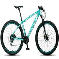 Bicicleta Aro 29 Dropp Rs1 Pro 24v Acera Freio Hidra E Trava - Verde/branco - 21