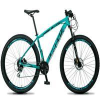 Bicicleta Aro 29 Dropp Rs1 Pro 24v Acera Freio Hidra E Trava - Verde/preto - 19