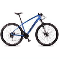 Bicicleta Aro 29 Dropp Tx 24v Acera, Susp E Freio Hidraulico - Azul/preto - 17''