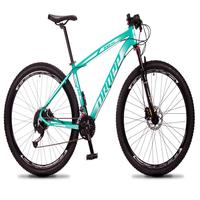 Bicicleta Aro 29 Dropp Rs1 Pro 27v Alivio, Fr. Hidra E Trava - Verde/branco - 15