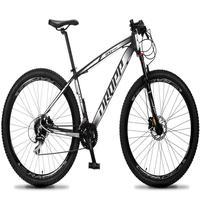 Bicicleta Aro 29 Dropp Rs1 Pro 24v Acera Freio Hidra E Trava - Preto/branco - 15