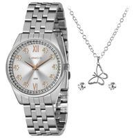 Relógio Feminino Analógico Lrmj136l Prata - Lince