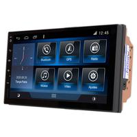 Multimídia Fit 2009 2010 2011 2012 2013 Tela 7´´ Android 9.0 Gps Câmera De Ré E Frontal Sem Tv 2gb Aikon