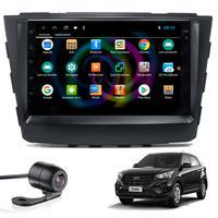 """Multimídia Hyundai Creta Tela 7"""" Android 9.0 Gps Câmera De Ré E Frontal Tv Digital 2gb Aikon"""