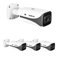 Kit 4 Câmeras Ip 5 Megapixels 2.7 A 13,5mm 50m Inteligência Artificial Vip 5550 Z Ia Intelbras