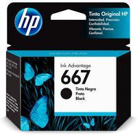 Cartucho Hp 667 Preto - 3ym79al - Para Deskjet Ink Advantage 6000 / 6400 / 1200 / 2300 / 2700 / 4100