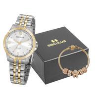 Relógio Seculus Feminino Analógico 20949lpsvba1k1