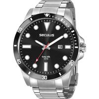 Relógio Seculus Masculino Long Life 20789g0svna1