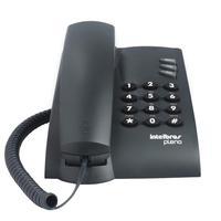 Telefone Intelbras Pleno, Com Chave De Bloqueio, Preto