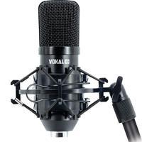 Microfone Condensador Xlr Vokal Sv80x Gravação Streaming E Podcast