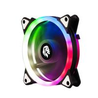 Cooler Fan Master Para Gabinete, 12x12cm, Hayom, Led RGB - FC1304