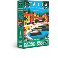 Quebra Cabeça 500 Peças Postais Do Mundo Italia - Toscana