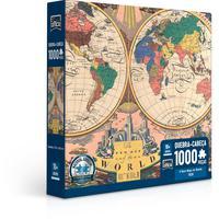 Quebra Cabeça 1000 Peças O Novo Mapa Do Mundo