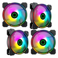 Fan Cooler Argb Gamemax Fn-12rainbow-d 4-fan