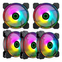 Fan Cooler Argb Gamemax Fn-12rainbow-d 5-fan