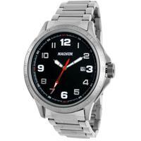 Relógio Masculino Magnum Ma31355t Prata