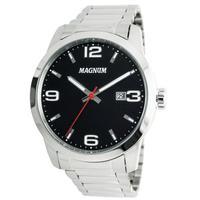Relógio Masculino Magnum Ma33595t Prata
