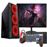 """Computador Gamer Completo Fácil Amd A6 9500, 8GB 2666mhz DDR4, HD 500gb, Radeon R5 2gb, Monitor 19"""" - Fonte 500w"""