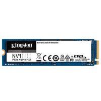 SSD Kingston Nv1 500gb m.2 2280, Nvme, Leitura: 2100mb/s e Gravação: 1700mb/s - SNVS/500G