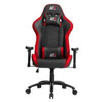 Cadeira Gamer Dt3 Sports Jaguar Red Apoio De Braço Com Altura Ajustável - Reclinavel 12198-1