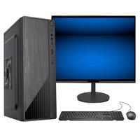 "Computador Fácil Intel Core I7 3.4ghz 16gb Ssd 240gb Monitor 21"" Hdmi Led Teclado E Mouse"