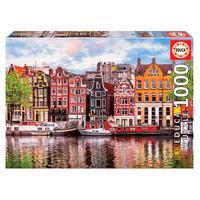 Puzzle 1000 Peças Casas Dançantes, Amsterdam - Educa - Imp