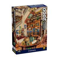 Puzzle 2000 Peças A Livraria