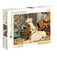 Puzzle 1500 Peças Caçadores - Clementoni - Importado