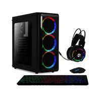 Pc Gamer Amd 10-core Cpu 3.8ghz 8gb (placa De Vídeo Radeon R5 2gb) Ssd 240gb Kit Gamer Skill