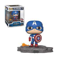 Boneco Captain America 589 Avengers Deluxe special Edition - Funko Pop