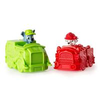 Patrulha Canina - Mini Veículos Pack Com 2 - Marshall/rocky