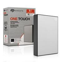 Hd Externo 5tb Usb 3.0 One Touch Prata Stkc5000401 Seagate
